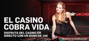 ruleta en vivo betfair