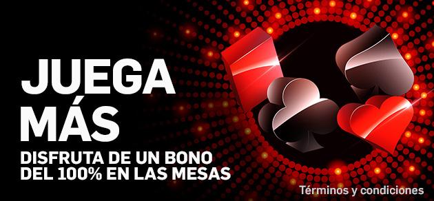 Bono 100% casino betfair