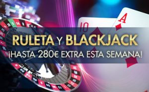 ruleta blackjack promo sportium