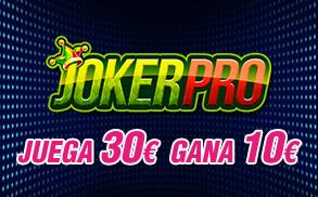 Joker Pro Wanabet juega 30 gana 10