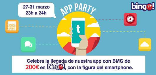 Tombola bingo app party