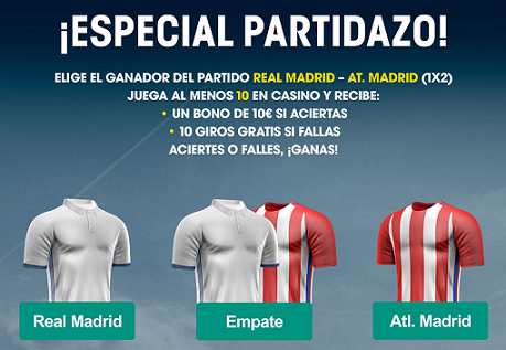 Williamhill Champions League R. Madrid - At Madrid Casino