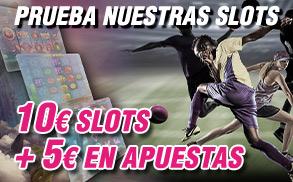 Wanabet prueba nuestras slots y gana hasta 15€