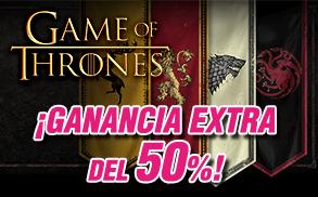 Wanabet Ganancia Extra slots 50%