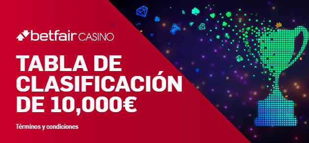 Betfair casino Torneo de 10.000€!