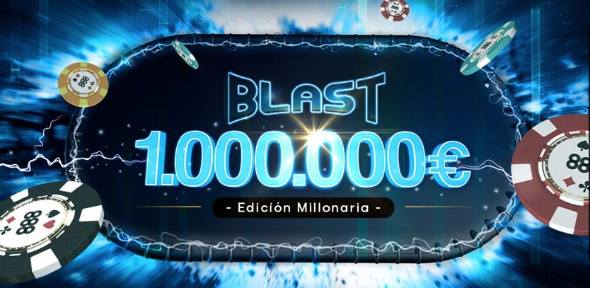 888poker gana hasta 1.00.000€ en minutos con blast poker!
