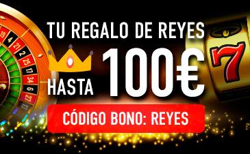 Sportium regalo de Reyes hasta 100€