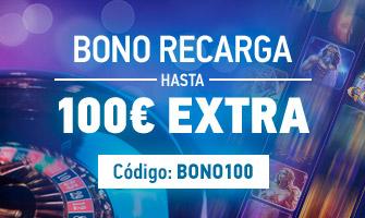 bono recarga 100€ sportium