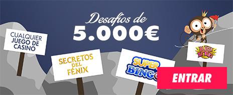 desafío 5000 euros botemania