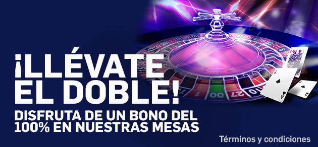 Bono doble Betfair casino