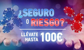 Seguro O Riesgo 100€ Sportium