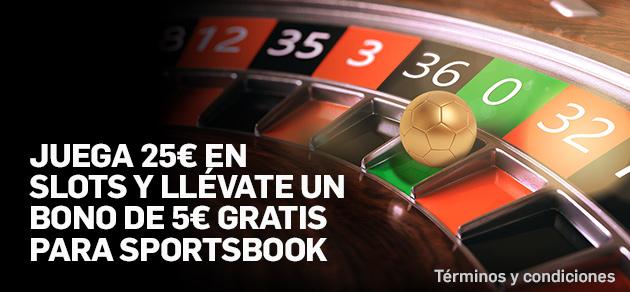 Betfair casino 25 slots 5 gratis apuestas