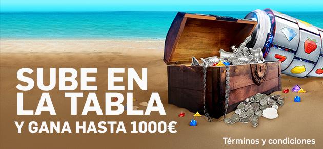 Betfair casino la tabla 1000€