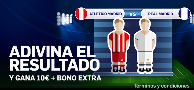 Betfair adivina resultado Atletico - Real Madrid