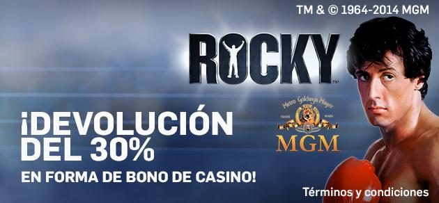 Betfair Devolución 30% bono casino