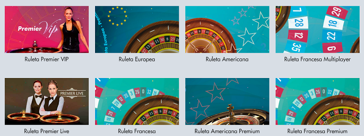 Ruletas Star Casino