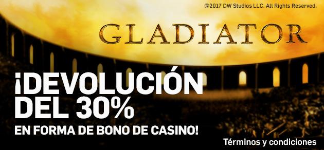 Betfair casino Slot devolución del 30%