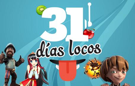 Paf 31 Días locos Slots