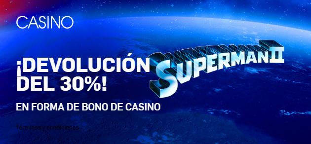 Betfair casino Devolución 30%