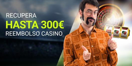 Luckia Reembolso casino hasta 300€