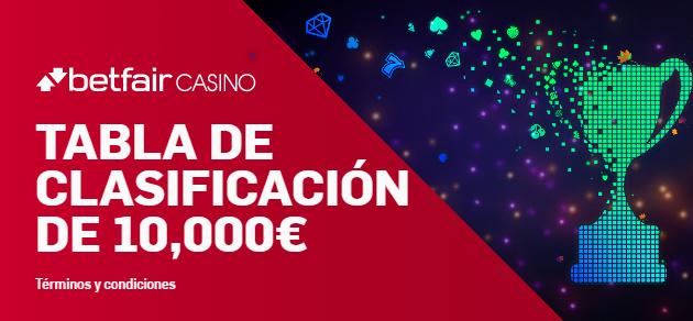 Betfair casino Torneo de 10.000€!