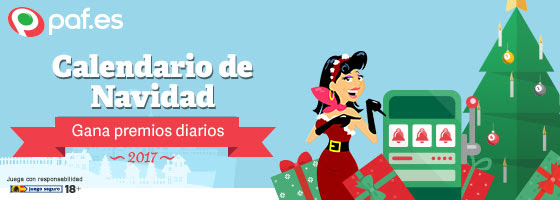 Paf PCalendario de Navidad con premios diarios!