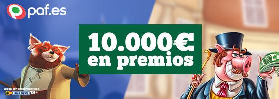 Paf 10.000€ en 4 días