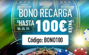 Sportium Bono Casino Recarga hasta 100€
