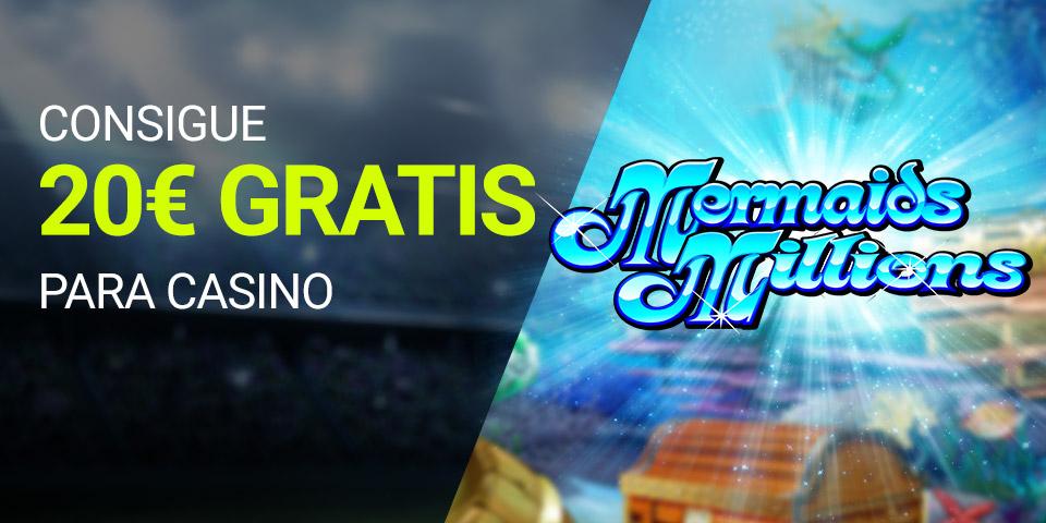 Bonos de casinos Luckia casino Slots consigue 20€ gratis para casino ¡SOLO HOY JUEVES!
