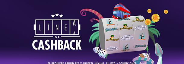 bonos de casinos Botemanía Linea de Cashback hasta 10€