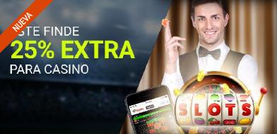 Luckia casino 25% extra este finde