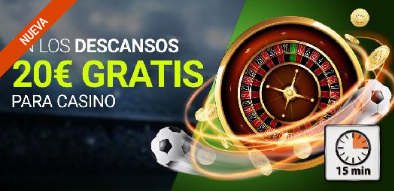 Luckia casino Juega en el descanso de la final de la Europa League y gana 20€