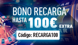 bonos de casinos Sportium casino bono de recarga hasta 100€ extra