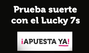 bonos de casinos Wanabet Ruleta en Vivo Lucky 7s gana 7 euros gratis!