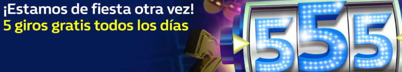 bonos de casinos William Hill casino 5 giros gratis todos los dias