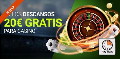 bonos de casinos Luckia 20€ gratis para casino