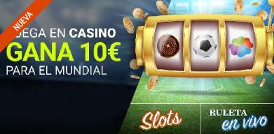 bonos de casinos Luckia Casino Gana 10€ para el Mundial