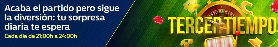 bonos de casinos William Hill Acaba el partido y aparece tu sorpresa diaria