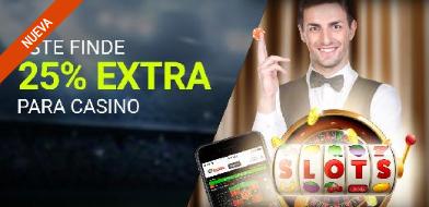 Luckia casino 25% extra para casino este finde