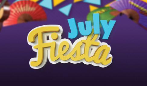 bonos de casinos Paf Casino July Fiesta gana hasta 500€ en slots