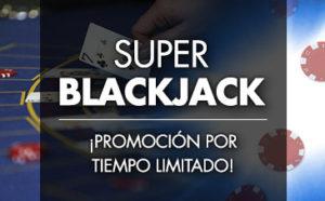 Super Blackjack ¡promocion por tiempo limitado! en Sportium