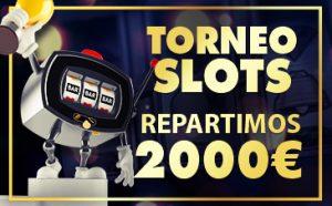 Torneo tragaperras repartimos 2.000€ Sportium