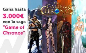 Gana 3.000€ con la saga game of chronos y Paston