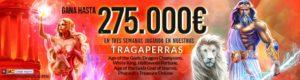 Gana hasta 275.000€ jugando en nuestras tragaperras en casino Marcaapuestas