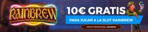 10€ gratis para jugar a Rainbrew en Paston