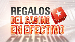 Regalos del casino en efectivo en Pokerstars casino