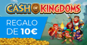 Cash of kingdoms regalo de 10€ en Paston