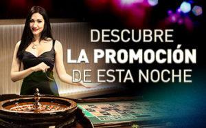 Ruleta:descubre la promo de esta noche en Sportium
