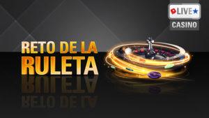 Reto de la ruleta en Pokerstarscasino