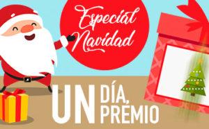 Especial navidad,un dia un premio en Sportium